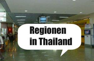Regionen in Thailand