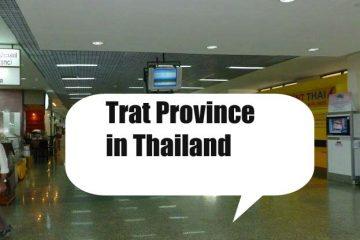 Hotels nach Regionen in Trat Province Thailand