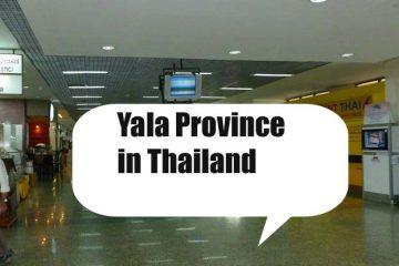 Hotels nach Regionen in Yala Province Thailand